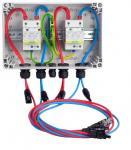 CITEL  Solar Anschlussbox Überspannungsschutz für 2 MPP Tracker / Kombiableiter Typ 1&2  IP65 GAK SPD