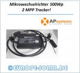 500W Mikrowechselrichter. AP-Systems.2 MPP Tracker! Für Mini PV oder Plug & Play