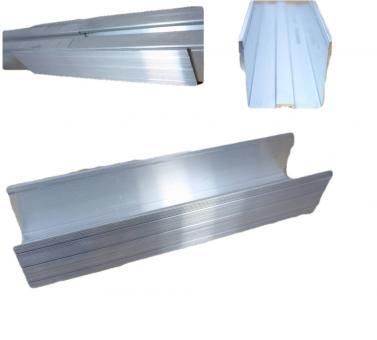 Schienenverbinder. U Form. Für Aluprofil PV. Solar. Profilverbinder. Mit Bohrschrauben. MIT 4x Bohrschraube