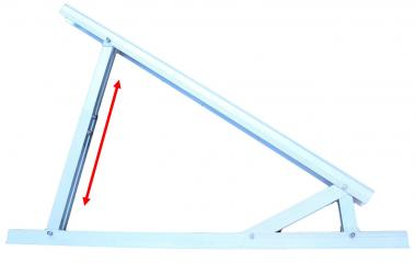 Vario Dreieck Solar Aufständerung professional 20° - 40° Hochkant waagerecht PV