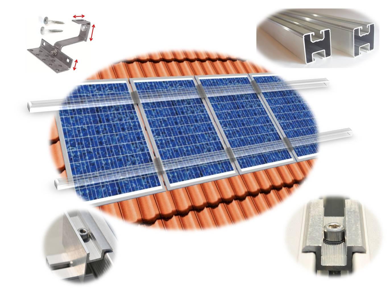 Befestigungsmittel Supply Solar Endklemme Schwarz Komplett Befestigungsset Rahmenhöhe 30 32 35 40 Mm Pv
