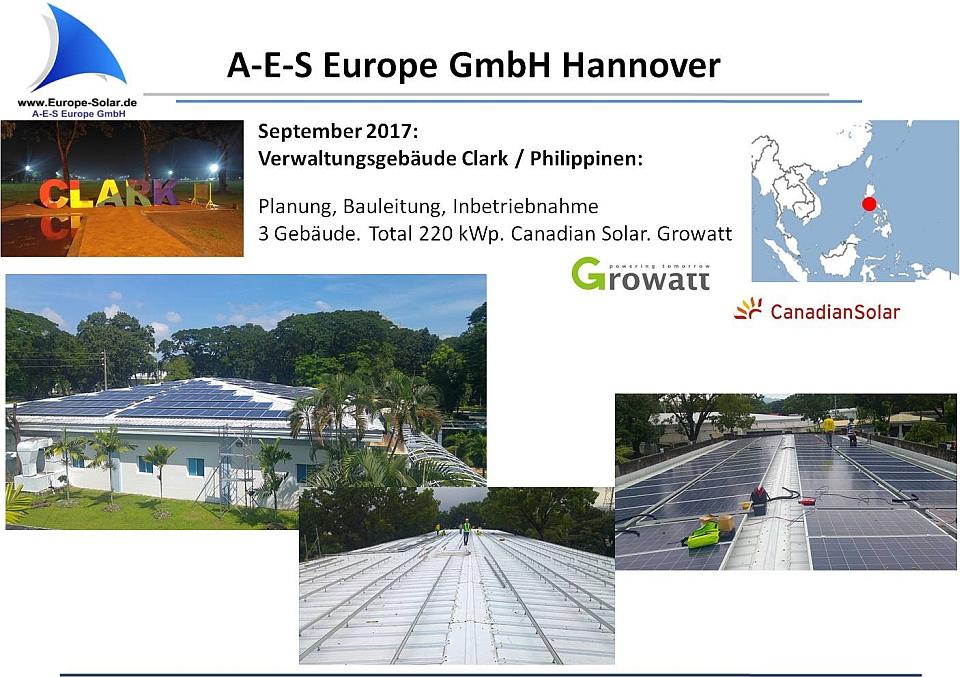 PV Projekt Philippinen 2016 SMA Canadian