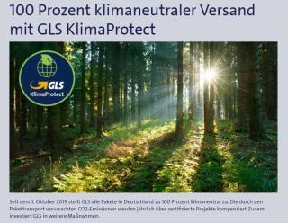 Klimaneutraler Versand Shop.Europe-Solar.de