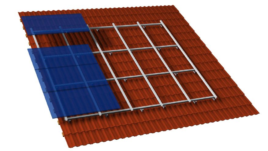 Solarmodul Endklemme / Mittelklemme